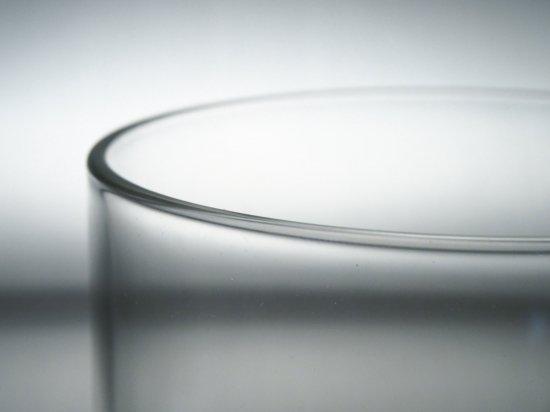 DURAN φ90-2.5t-113L 端面口焼 耐熱ガラス管切断品