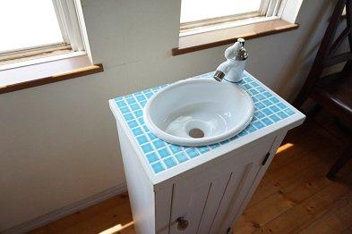 タイル手洗いセット(水栓なし/w400×d250)