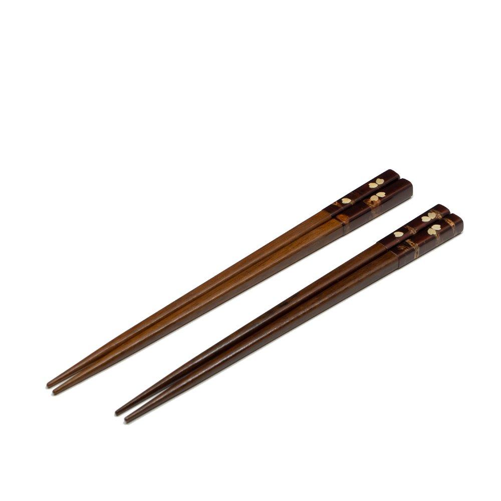樺細工 鉄木箸 桜 夫婦セット