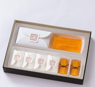 【送料込み】鶏卵素麺 詰合せ(鶏卵素麺 1本入・鶏卵素麺 たばね 6個入)