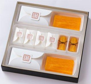 鶏卵素麺詰合せ(鶏卵素麺 2本入・鶏卵素麺 たばね 6個入)