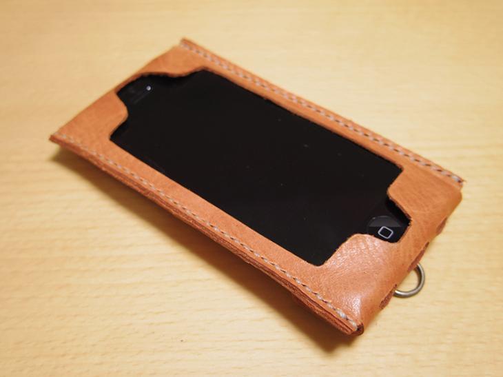 iPhone 5s/5c/5対応レザーケース