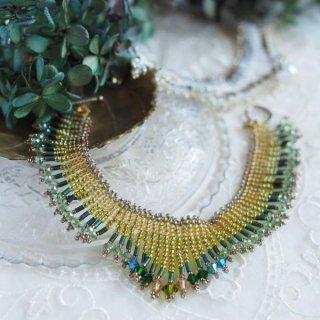 「オーロラのブレスレット 緑」キット