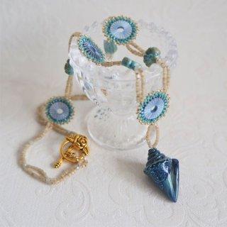 「巻貝のネックレス」キット