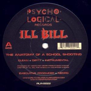 ILL BILL - The Anatomy Of A School Shooting / Unstoppable - EBBTIDE ...