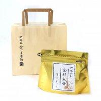 【名入れ】 金ごまお配りギフト 金・銀パッケージ - お寺・神社向け (最小購入数50個)