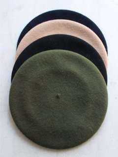 "JANE SMITH ""wool beret cap"""
