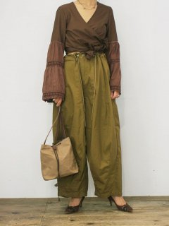 "Needles""H.D pants (brown) """