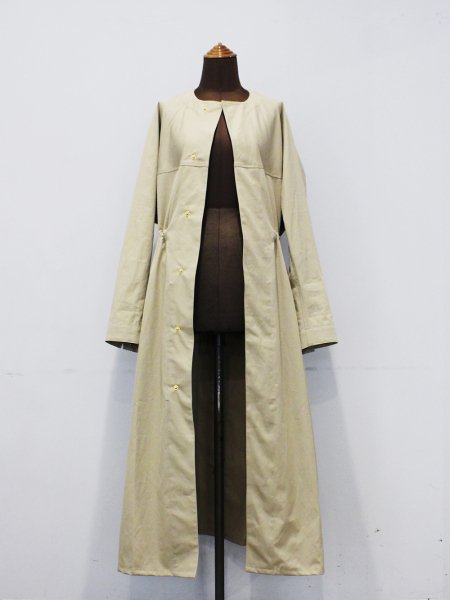 """<img class='new_mark_img1' src='https://img.shop-pro.jp/img/new/icons8.gif' style='border:none;display:inline;margin:0px;padding:0px;width:auto;' />JUN MIKAMI """" VENTILE coat """""""