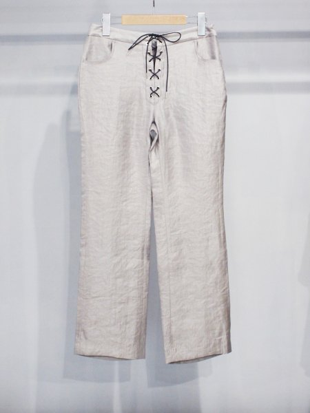 "<img class='new_mark_img1' src='//img.shop-pro.jp/img/new/icons20.gif' style='border:none;display:inline;margin:0px;padding:0px;width:auto;' />ALLEGE "" lace up slacks """