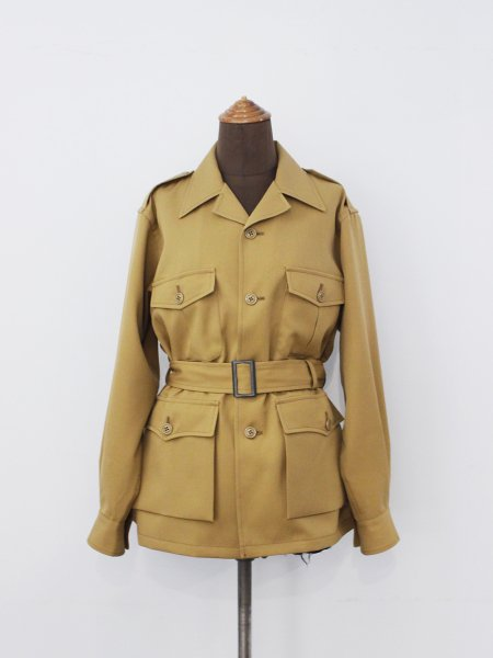 "<img class='new_mark_img1' src='//img.shop-pro.jp/img/new/icons8.gif' style='border:none;display:inline;margin:0px;padding:0px;width:auto;' />Needles "" Safari Jacket - Wool Twill """