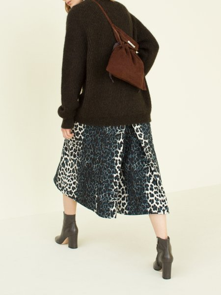 """<img class='new_mark_img1' src='https://img.shop-pro.jp/img/new/icons8.gif' style='border:none;display:inline;margin:0px;padding:0px;width:auto;' />FILL THE BILL"""" Leopard Riding Pants """""""
