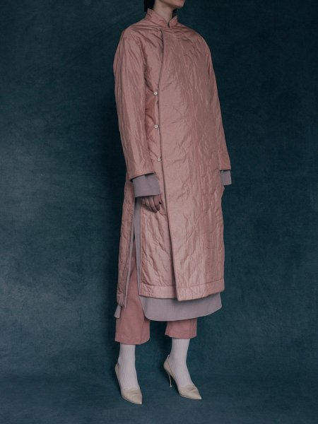 """<img class='new_mark_img1' src='https://img.shop-pro.jp/img/new/icons8.gif' style='border:none;display:inline;margin:0px;padding:0px;width:auto;' />WRYHT """" ASYMMETRY FRONT REVERSIBLE COAT """""""