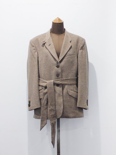 """<img class='new_mark_img1' src='https://img.shop-pro.jp/img/new/icons8.gif' style='border:none;display:inline;margin:0px;padding:0px;width:auto;' />WRYHT """" BELTED COUNTRY JACKET """""""