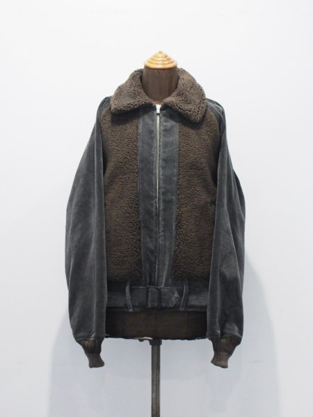 """<img class='new_mark_img1' src='https://img.shop-pro.jp/img/new/icons8.gif' style='border:none;display:inline;margin:0px;padding:0px;width:auto;' />FILL THE BILL"""" CORDUROY BEAR JACKET """""""