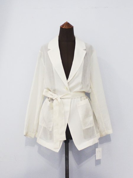 "<img class='new_mark_img1' src='//img.shop-pro.jp/img/new/icons8.gif' style='border:none;display:inline;margin:0px;padding:0px;width:auto;' />DOMENICO+SAVIO "" Cotton Voil Sheer Jacket """