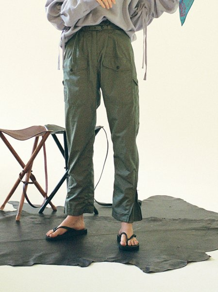 "<img class='new_mark_img1' src='//img.shop-pro.jp/img/new/icons8.gif' style='border:none;display:inline;margin:0px;padding:0px;width:auto;' />FILL THE BILL"" high waist cargo trouser """
