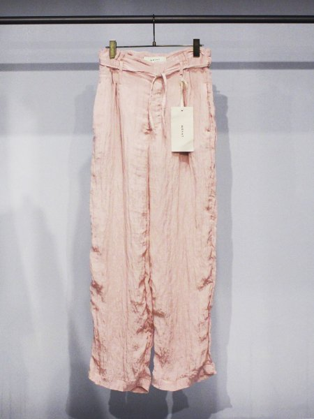 """<img class='new_mark_img1' src='https://img.shop-pro.jp/img/new/icons8.gif' style='border:none;display:inline;margin:0px;padding:0px;width:auto;' />WRYHT """" String Waist Trouser """""""