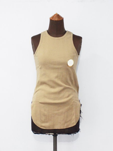 """<img class='new_mark_img1' src='https://img.shop-pro.jp/img/new/icons8.gif' style='border:none;display:inline;margin:0px;padding:0px;width:auto;' />WRYHT """" Round-Neck Ribbed Tank """""""