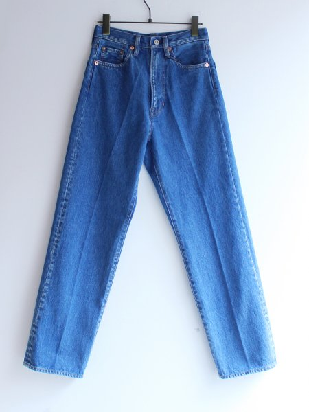 "<img class='new_mark_img1' src='//img.shop-pro.jp/img/new/icons8.gif' style='border:none;display:inline;margin:0px;padding:0px;width:auto;' />FILL THE BILL "" High Waist Straight Denim Slacks """