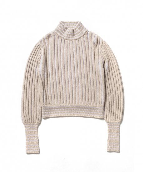"FILL THE BILL "" Accordion Knit Pullover """