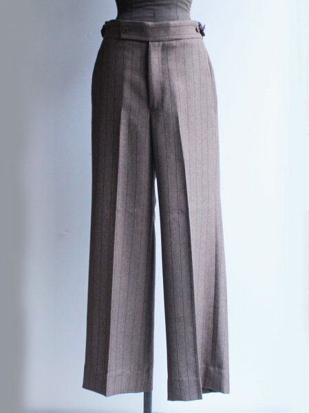"""<img class='new_mark_img1' src='https://img.shop-pro.jp/img/new/icons8.gif' style='border:none;display:inline;margin:0px;padding:0px;width:auto;' />Needles """" Side Tab Trouser - Stripe Poly Cloth """""""