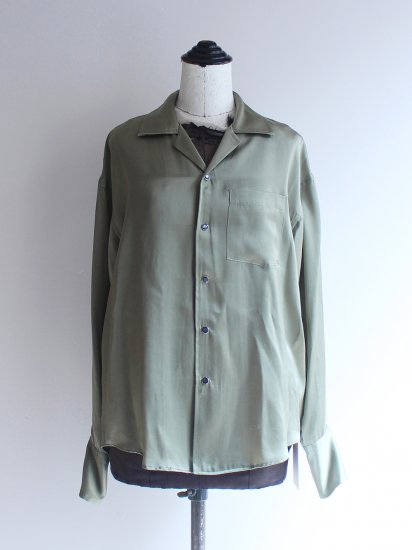 "<img class='new_mark_img1' src='https://img.shop-pro.jp/img/new/icons8.gif' style='border:none;display:inline;margin:0px;padding:0px;width:auto;' />ALLEGE "" Long Cuffs Open Collar Shirt  """