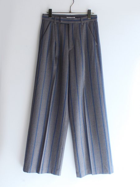 "<img class='new_mark_img1' src='//img.shop-pro.jp/img/new/icons8.gif' style='border:none;display:inline;margin:0px;padding:0px;width:auto;' />DOMENICO+SAVIO "" STRIPES WIDE PANTS """