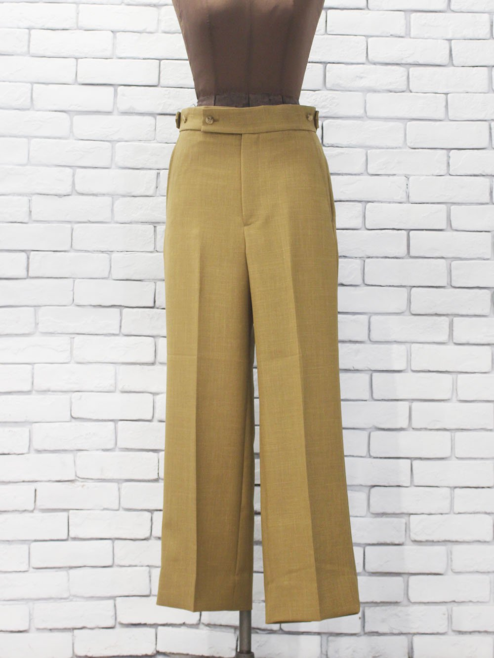 """<img class='new_mark_img1' src='https://img.shop-pro.jp/img/new/icons8.gif' style='border:none;display:inline;margin:0px;padding:0px;width:auto;' />Needles """" Side Tab Trouser - Pony Dobby Twill """""""