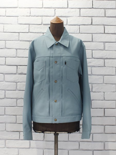 "<img class='new_mark_img1' src='https://img.shop-pro.jp/img/new/icons8.gif' style='border:none;display:inline;margin:0px;padding:0px;width:auto;' />Needles "" Penny Jean Jacket - Poly Twill """