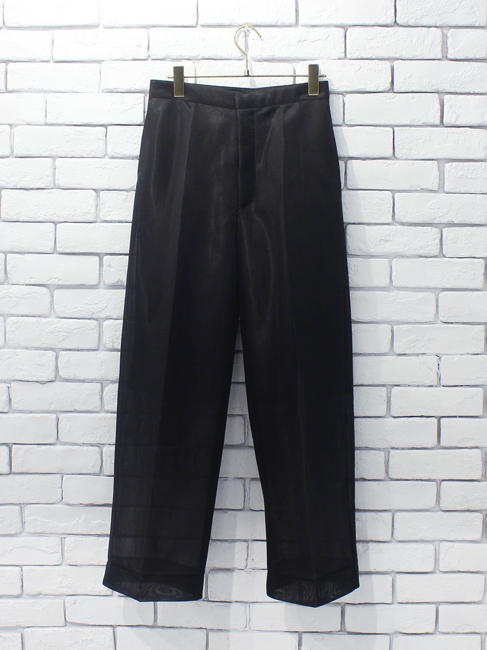 "<img class='new_mark_img1' src='https://img.shop-pro.jp/img/new/icons8.gif' style='border:none;display:inline;margin:0px;padding:0px;width:auto;' />PHEENY "" Seer double knit wide slacks (black) """