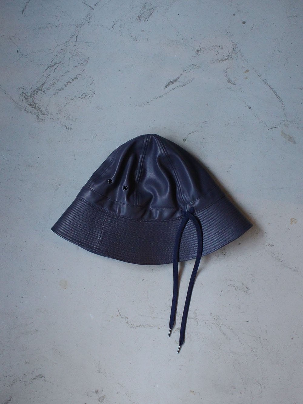 """<img class='new_mark_img1' src='https://img.shop-pro.jp/img/new/icons8.gif' style='border:none;display:inline;margin:0px;padding:0px;width:auto;' />FILL THE BILL"""" FAKE LEATHER MILITARY HAT (PURPLE)"""