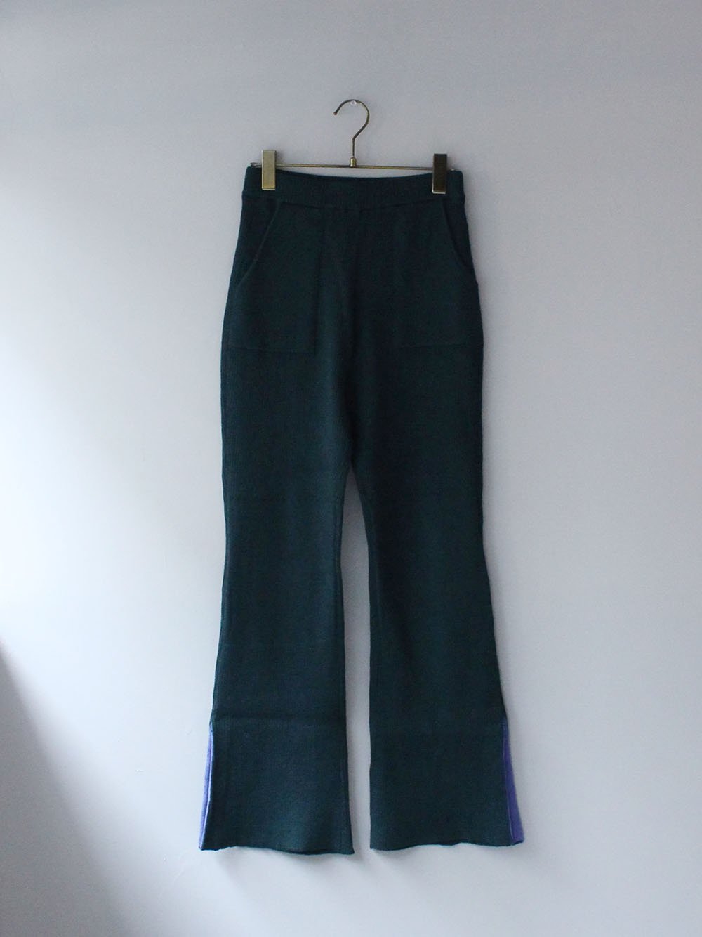 """<img class='new_mark_img1' src='https://img.shop-pro.jp/img/new/icons8.gif' style='border:none;display:inline;margin:0px;padding:0px;width:auto;' />FILL THE BILL"""" MILITARY COMMAND RIB PANTS (GREEN x PURPLE)"""