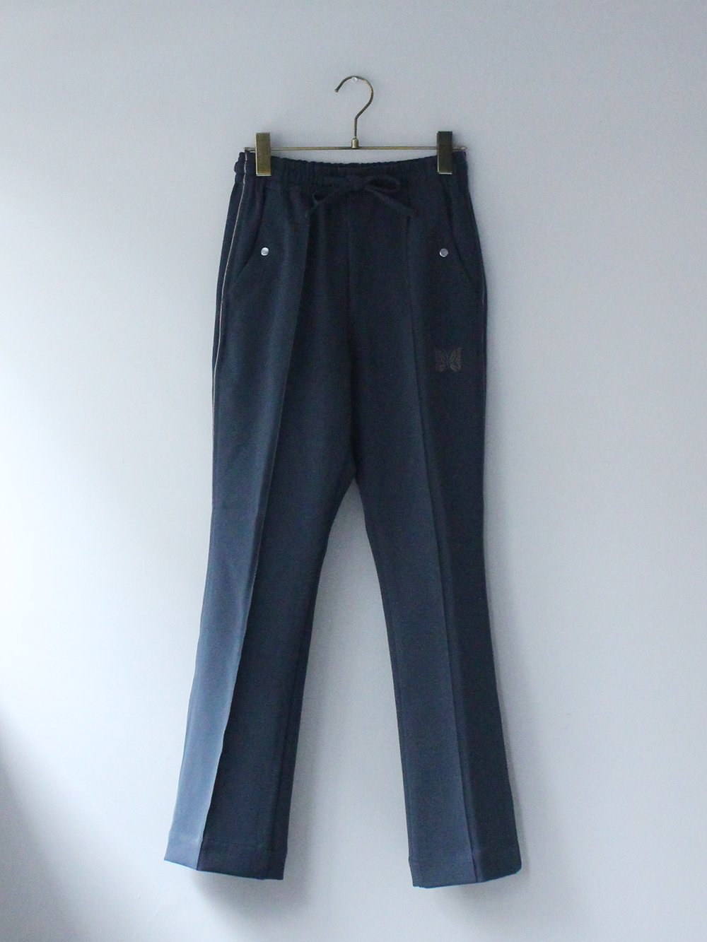 """<img class='new_mark_img1' src='https://img.shop-pro.jp/img/new/icons8.gif' style='border:none;display:inline;margin:0px;padding:0px;width:auto;' />Needles """" Piping Cowboy Pant - Pe/Pu Double Cloth (green)"""""""