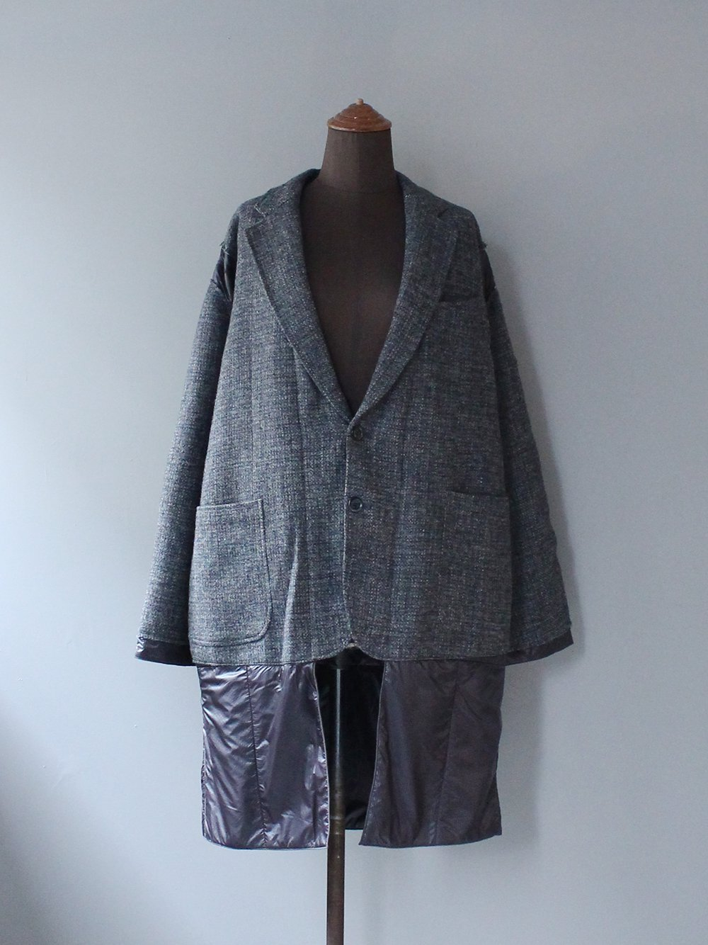 """<img class='new_mark_img1' src='https://img.shop-pro.jp/img/new/icons8.gif' style='border:none;display:inline;margin:0px;padding:0px;width:auto;' />Needles """" Tweed Jacket -> Covered Coat (assorted)"""""""