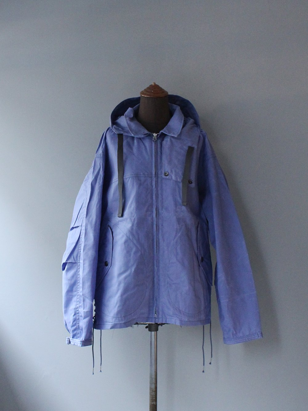 """<img class='new_mark_img1' src='https://img.shop-pro.jp/img/new/icons8.gif' style='border:none;display:inline;margin:0px;padding:0px;width:auto;' />FILL THE BILL"""" PARAFFIN SPORTS JACKET (STEEL PURPLE)"""