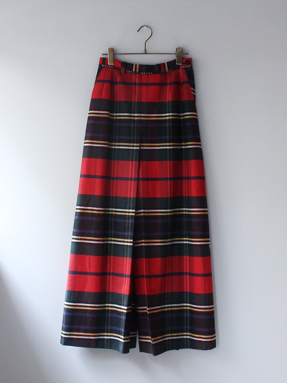 """<img class='new_mark_img1' src='https://img.shop-pro.jp/img/new/icons8.gif' style='border:none;display:inline;margin:0px;padding:0px;width:auto;' />WRYHT """" CULOTTE SKIRT (CAYENNE) """""""