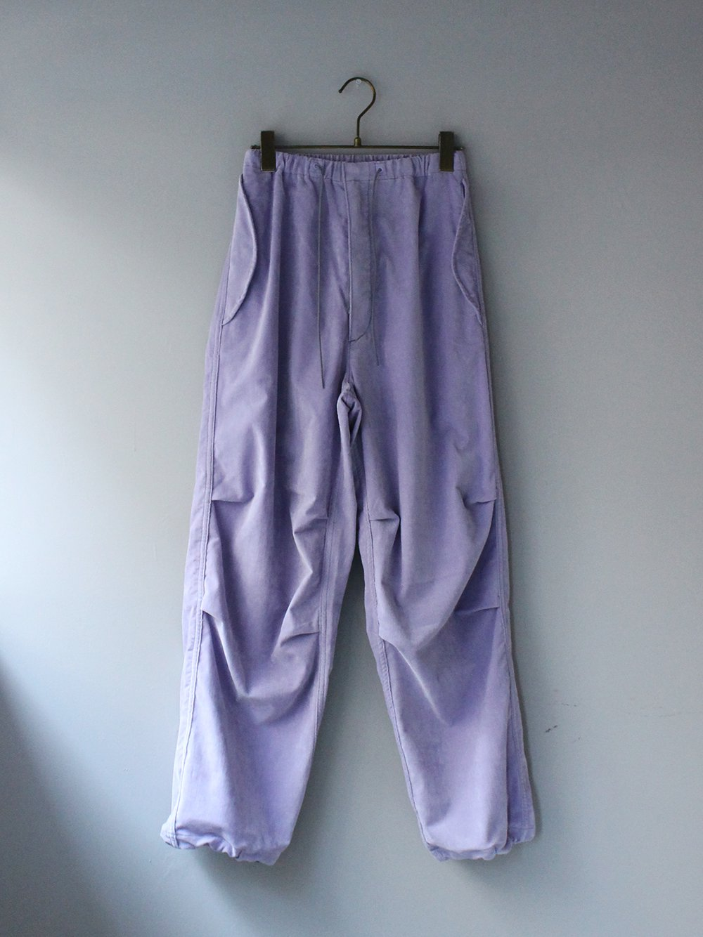 """<img class='new_mark_img1' src='https://img.shop-pro.jp/img/new/icons8.gif' style='border:none;display:inline;margin:0px;padding:0px;width:auto;' />FILL THE BILL"""" VELOR MILITARY EASY PANTS (LAVENDER)"""