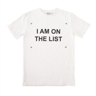 ANNA K T-SHIRTS I AM ON THE LIST アンナケー Tシャツ