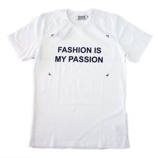 ANNA K T-SHIRTS FASHION IS MY PASSION アンナケー Tシャツ