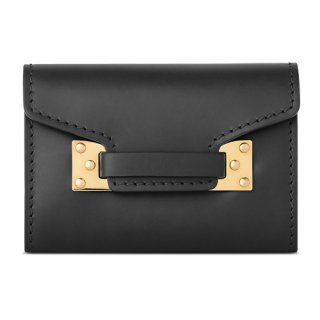 <img class='new_mark_img1' src='//img.shop-pro.jp/img/new/icons16.gif' style='border:none;display:inline;margin:0px;padding:0px;width:auto;' />SOPHIE HULME DOUBLE MILNER CARDHOLDER BLACK ソフィー・ヒュルム ダブル ミルナー カードホルダー ブラック