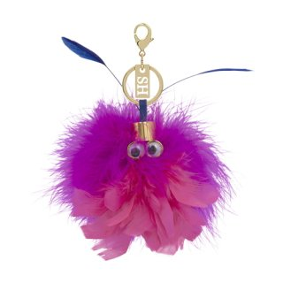 <img class='new_mark_img1' src='https://img.shop-pro.jp/img/new/icons16.gif' style='border:none;display:inline;margin:0px;padding:0px;width:auto;' />SOPHIE HULME WIZZY KEYRING CHARM ソフィー・ヒュルム ウィジー キーリング チャーム ピンク/ブルー