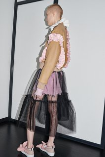 <img class='new_mark_img1' src='//img.shop-pro.jp/img/new/icons16.gif' style='border:none;display:inline;margin:0px;padding:0px;width:auto;' />MSGM TULLE SKIRTS エムエスジィエム チュール スカート