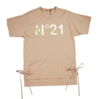N��21  LOGO T-SHIRTS SIDE RIBBON �̥�������ȥ�����  �? T����� �����ɥ�ܥ�