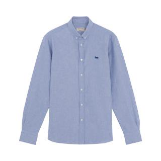 MAISON KITSUNE OXFORD  EMBROIDERY CLASSIC SHIRT メゾンキツネ 刺繍 シャツ