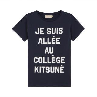 <img class='new_mark_img1' src='//img.shop-pro.jp/img/new/icons16.gif' style='border:none;display:inline;margin:0px;padding:0px;width:auto;' />MAISON KITSUNE T-SHIRT JE SUIS ALLE  メゾンキツネ Tシャツ ジュスイ レディス