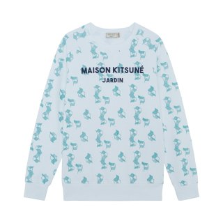 <img class='new_mark_img1' src='//img.shop-pro.jp/img/new/icons16.gif' style='border:none;display:inline;margin:0px;padding:0px;width:auto;' />MAISON KITSUNE  ALL-OVER JARDIN SWEAT  メゾンキツネ オールオーバージャルダン スウェット