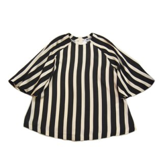 <img class='new_mark_img1' src='//img.shop-pro.jp/img/new/icons16.gif' style='border:none;display:inline;margin:0px;padding:0px;width:auto;' />MSGM GATHER STRIPE BLOUSE エムエスジーエム ストライプ ブラウス