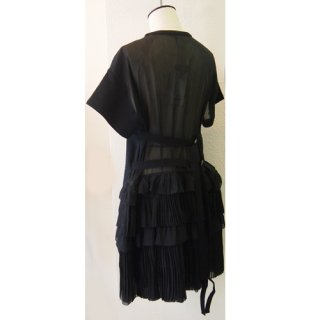 <img class='new_mark_img1' src='//img.shop-pro.jp/img/new/icons16.gif' style='border:none;display:inline;margin:0px;padding:0px;width:auto;' />N°21  PLEATS BELT DRESS  ヌメロヴェントゥーノ  プリーツベルト ドレス