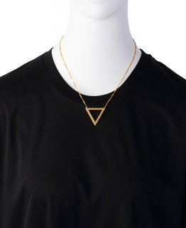 JOHN LAWRENCE SULLIVAN YOSHIKO CREATION TRIANGLE NECKLACEジョン ローレンス サリバン  ネックレス